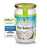 kaltgepresstes Kokosöl (Bio) im Schraubglas
