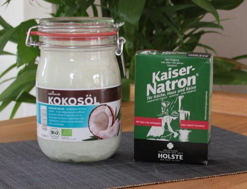 Kokosöl-Natron-Deo selbstgemacht