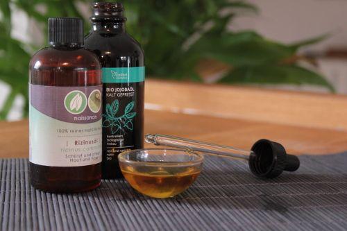 Jobobaöl für die Hautpflege