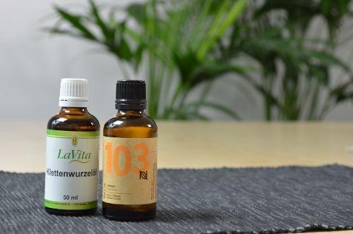 Klettenwurzelöl für die Haare