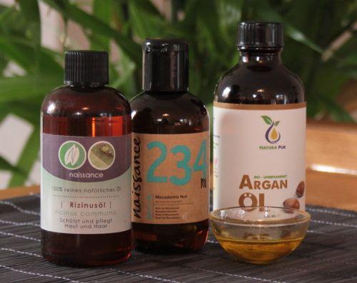 Arganoel Haarkur mit weiteren Ölen