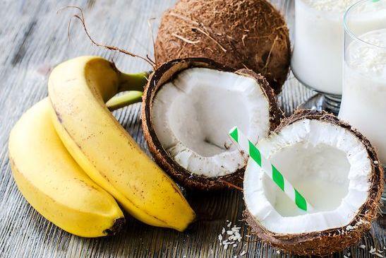 Haarkur aus Kokosöl und Banane selbst gemacht