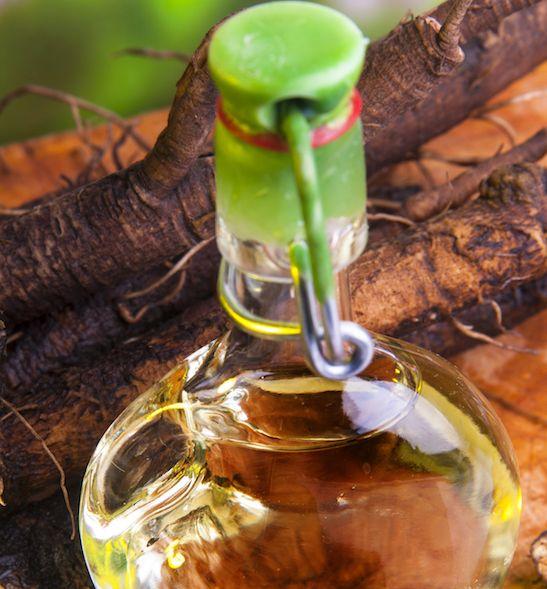 klettenwurzel sonnenblumenöl haaröl machen