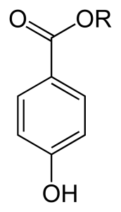 Paraben Strukturformel