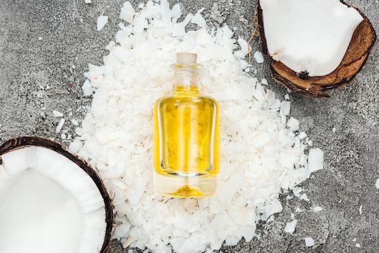 Kokosöl und Olivenöl Haarkur