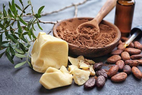 Handcreme für die Familie aus Kakaobutter und Kokosöl