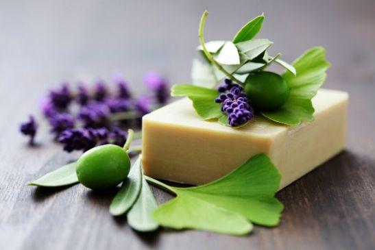 Seife aus Olivenölseife