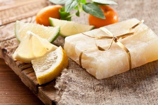 Haarseife selbstgemacht mit Zitrone